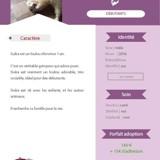 Siuka, Animal  à adopter
