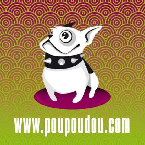 Poupoudou, chien Bouledogue français