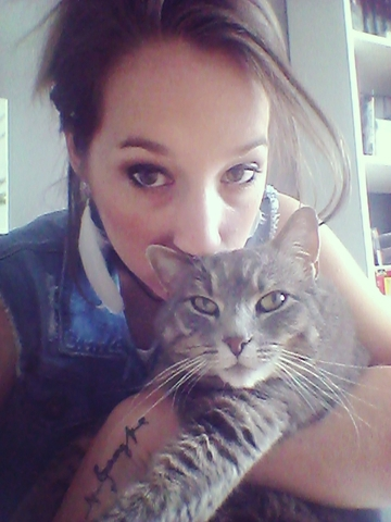 Jade, chat Chartreux
