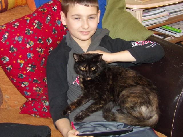 Grace, chat Gouttière
