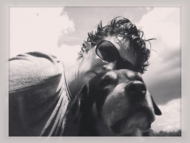 Karla, chien Rottweiler