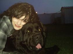 Chester, chien Terre-Neuve