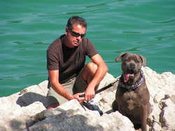 Chanya, chien Cane Corso