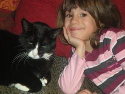 Gigi, chat Gouttière