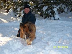 Iska, chien Berger allemand