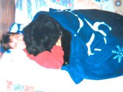 Lucky, chien Terre-Neuve