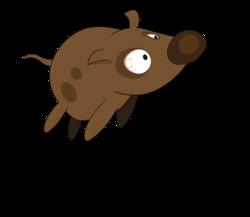 Paf Le Chien, chien