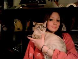 Perle De Brume, chat