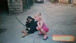 Rip Choupette, chien Berger australien