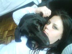 Daliah, chien Labrador Retriever