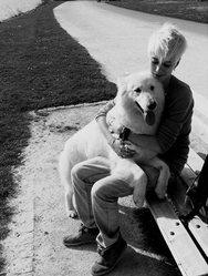 Ela, chien Berger blanc suisse