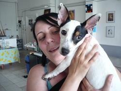 Fleya, chien Jack Russell Terrier