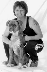 Léa, chien Boxer