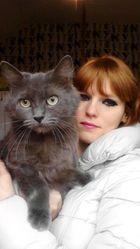 Louloutte ' Fleur' , chat