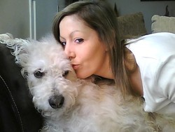 Max, chien Griffon belge