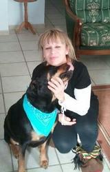 Naya, chien Rottweiler