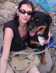 Snoopy, chien Bouvier bernois