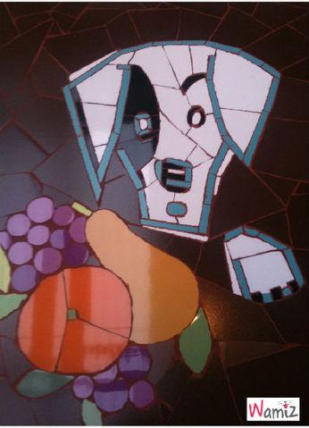 Mosaique Tête , lolcats réalisé sur Wamiz