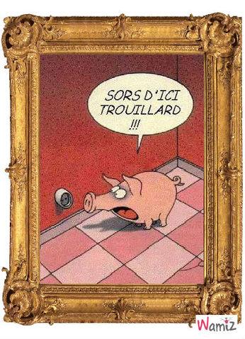 cochon, lolcats réalisé sur Wamiz
