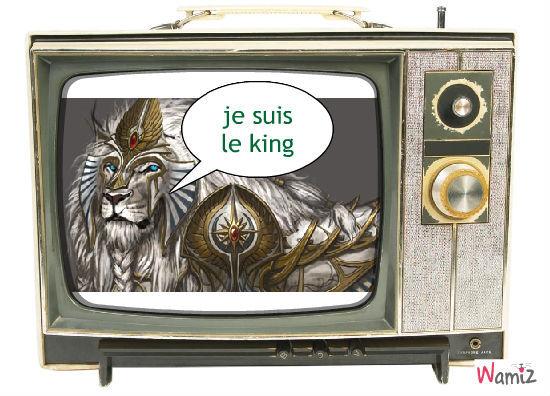 le kingle king!!, lolcats réalisé sur Wamiz