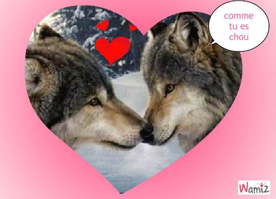 les loups, lolcats réalisé sur Wamiz