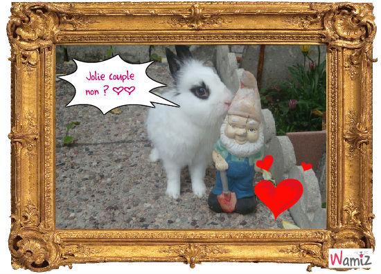 Ahh l'amour :D , lolcats réalisé sur Wamiz