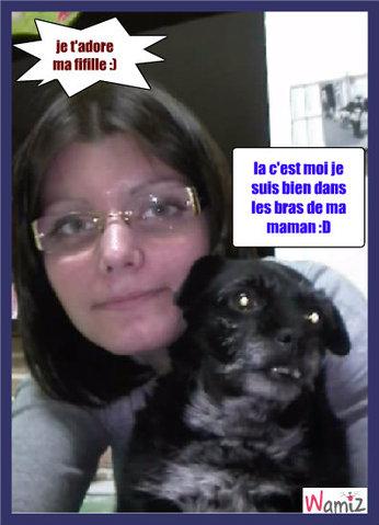 ma maman et moi :D, lolcats réalisé sur Wamiz
