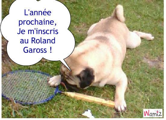 Tennis , lolcats réalisé sur Wamiz