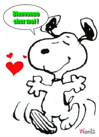 Snoopy !!, lolcats réalisé sur Wamiz