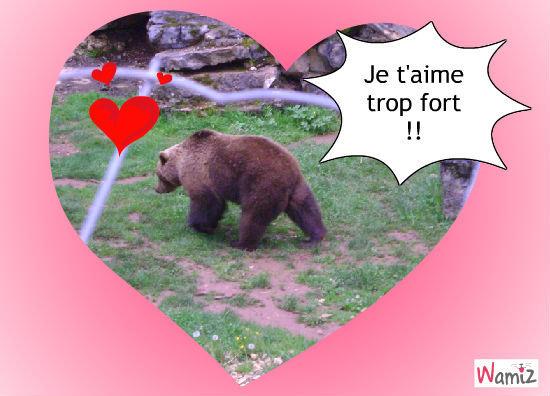 Je t'aime beaucoup !!, lolcats réalisé sur Wamiz