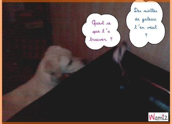 Aya  & Anatole a la chasse au griniotage !!!, lolcats réalisé sur Wamiz