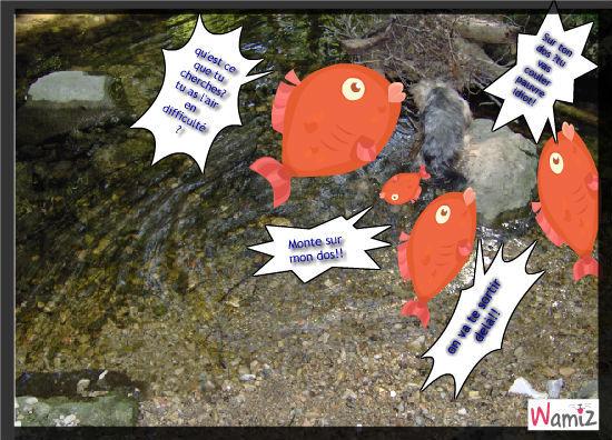 aAmbre à la pêche!!!!, lolcats réalisé sur Wamiz