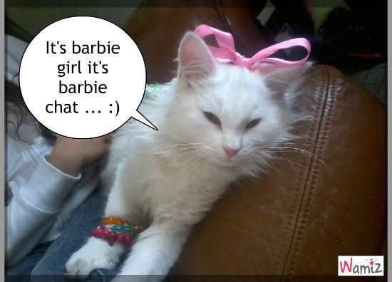 It's barbie gil, lolcats réalisé sur Wamiz