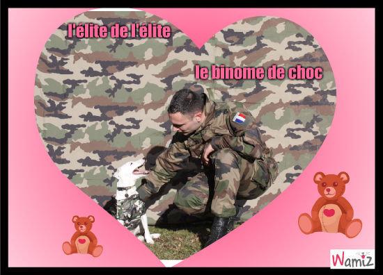 dog of army, lolcats réalisé sur Wamiz
