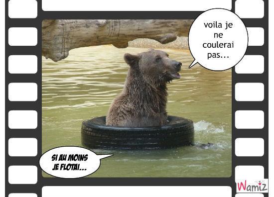 l'ours du parc de gramat 46, lolcats réalisé sur Wamiz