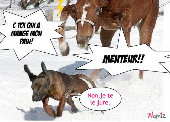 MOn PAIN!!!!!!!!!!!!!!, lolcats réalisé sur Wamiz