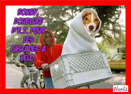 Bonny, la doublure d'E.T., lolcats réalisé sur Wamiz