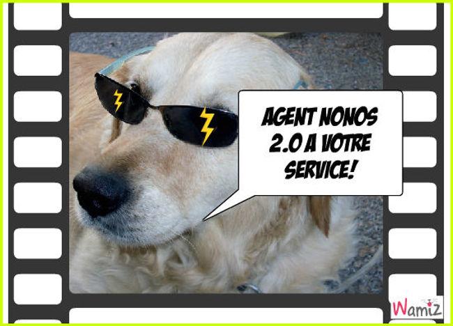 Agent nonos, lolcats réalisé sur Wamiz