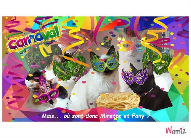 Carnaval !, lolcats réalisé sur Wamiz