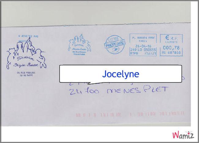 lettre de Brigitte, lolcats réalisé sur Wamiz