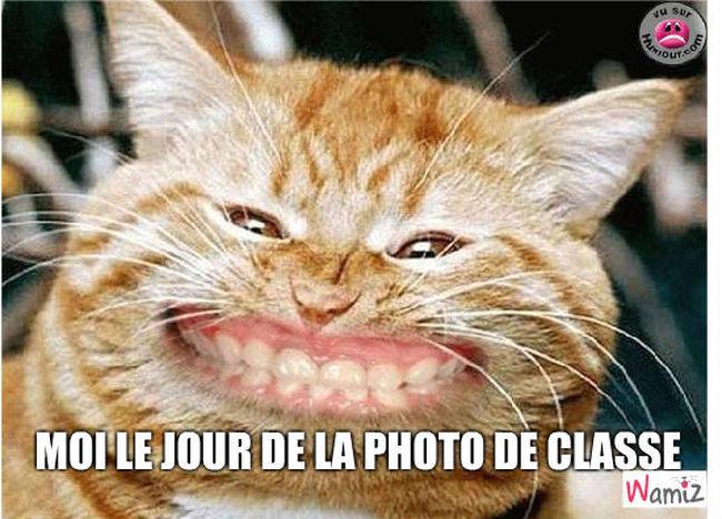 Moi le jour de la photo de classe., lolcats réalisé sur Wamiz