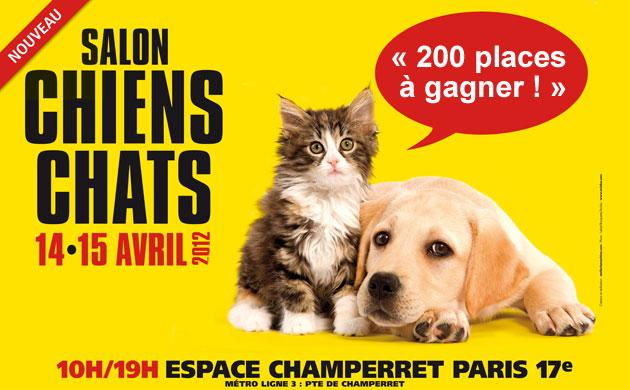 Concours pour gagner des produits pour animaux chiens for Salon des chiens