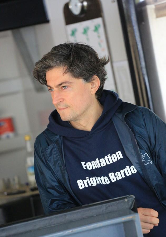 Christophe Marie, porte-parole de la fondation Brigitte Bardot