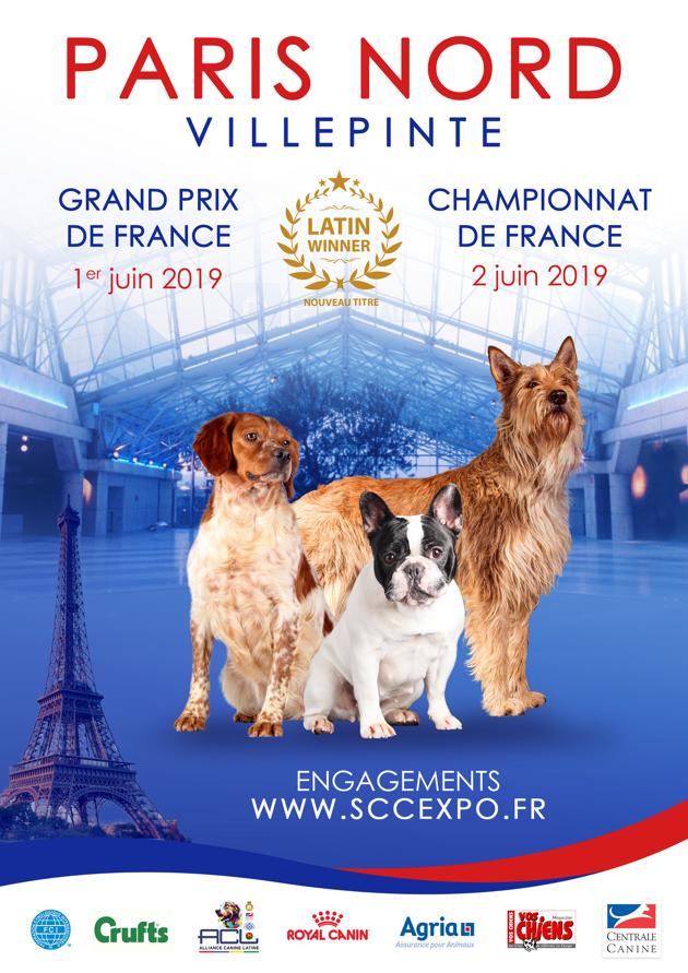 Le Championnat de France du Chien de Race se tient à Paris ce week-end !