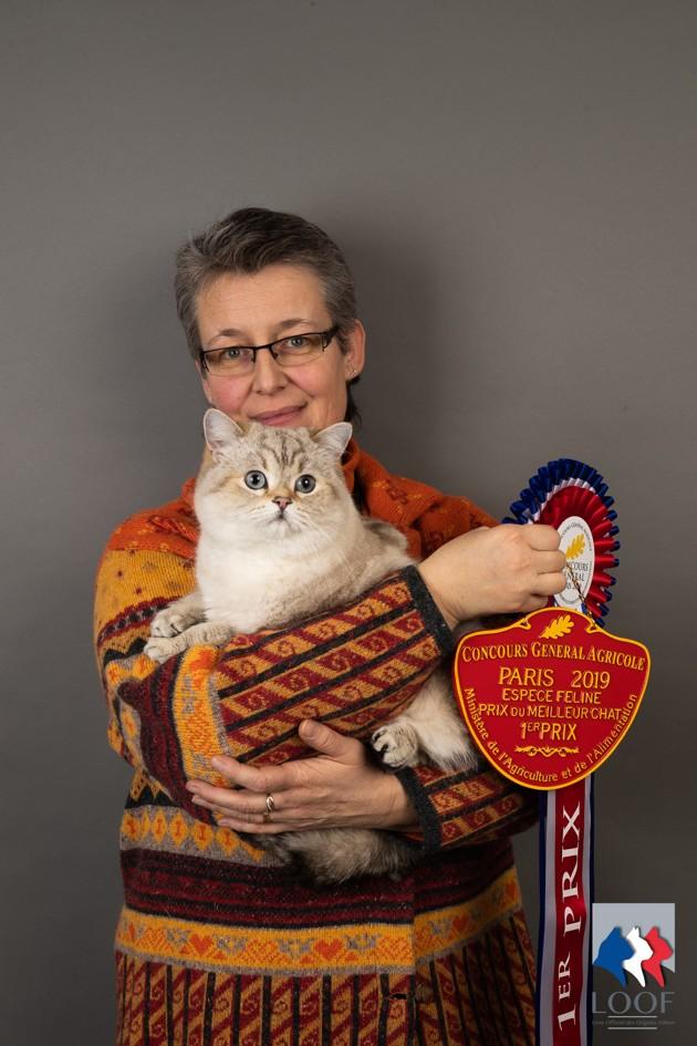 Concours Général Agricole des chats de race 2019 : découvrez la gagnante !