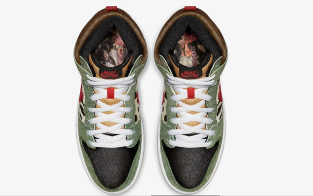 Nike sort une nouvelle paire de baskets qui plaira aux amateurs de chiens avec une surprise sous la semelle !