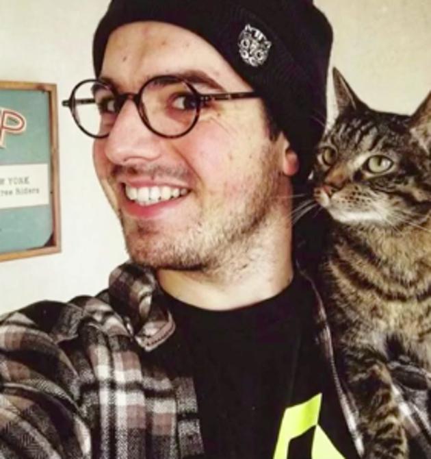 Rémy et son chat