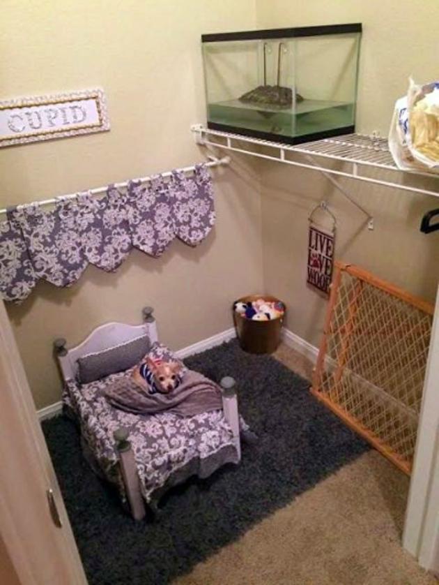 La chambre de Cupide