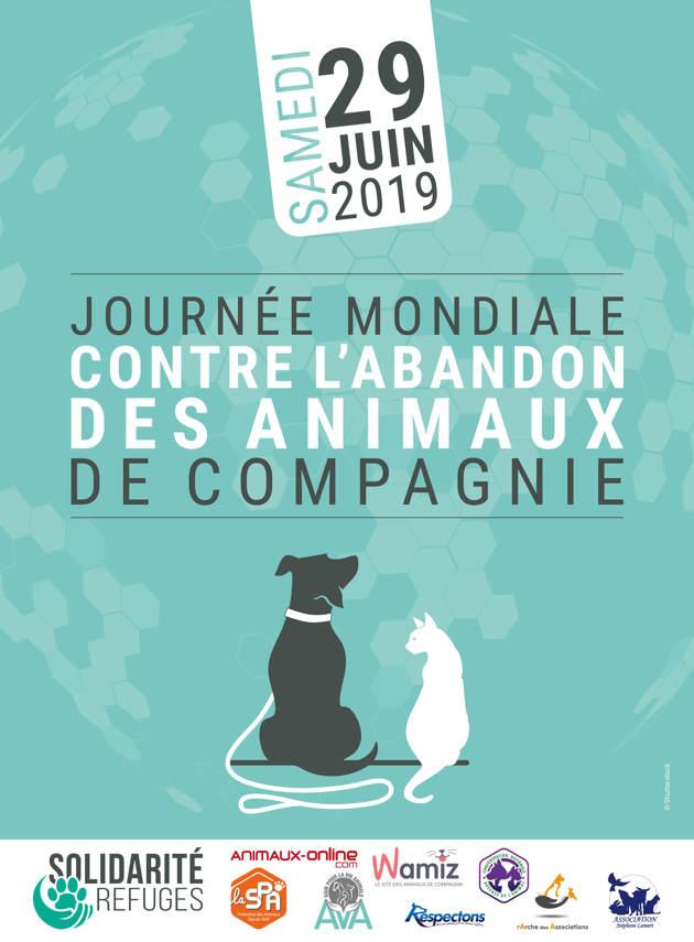 Le 29 juin, c'est la première Journée Mondiale contre l'abandon des animaux de compagnie !