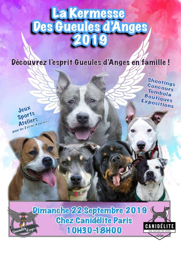 Kermesse Gueules d'Anges 2019 : un évènement familial dog-friendly à ne pas manquer